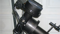 HD150 German Equatorial Mount with Portable Pier